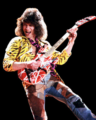 Edward Van Halen was, is and will always be the king of rock n' roll guitar - period - end of story.